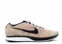 "Nike Flyknit Racer ""mulit-color grey tongue"""